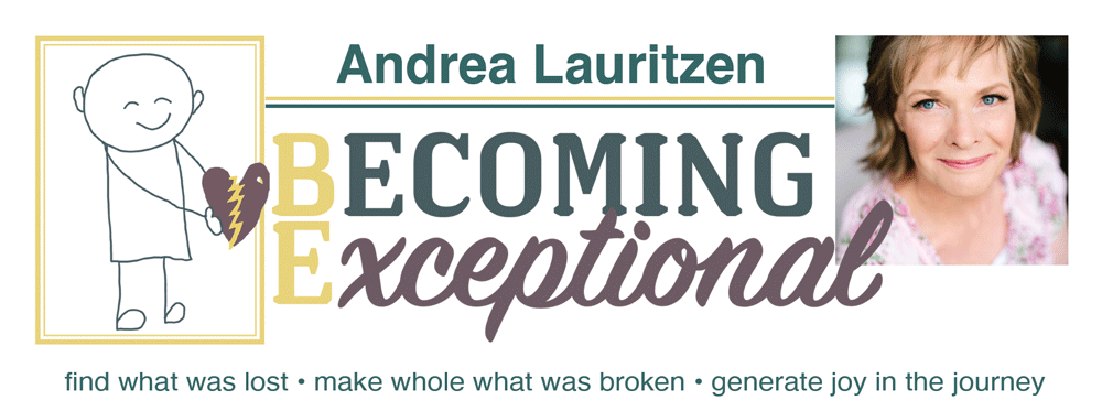 Andrea website Logo w sayings